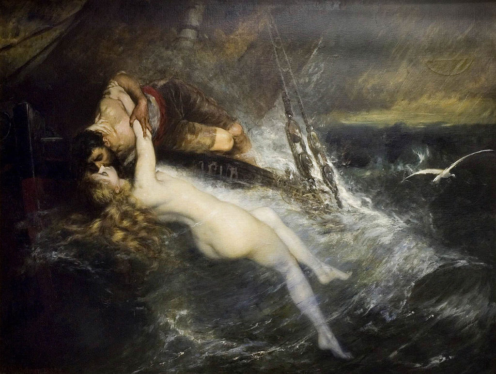 gustav_wertheimer_-_the_kiss_of_the_siren_1882
