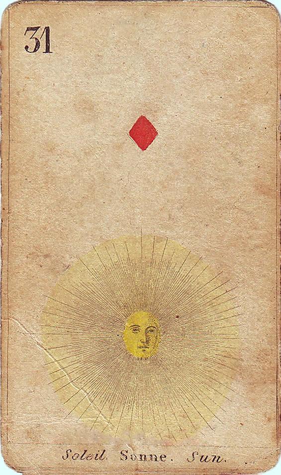 31-sonne-karo-as