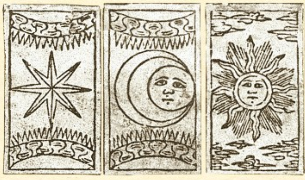everyday-tarot-cards_15th-century-florence_star-moon-sun